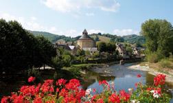 Le village de Sainte-Eulalie-d'Olt